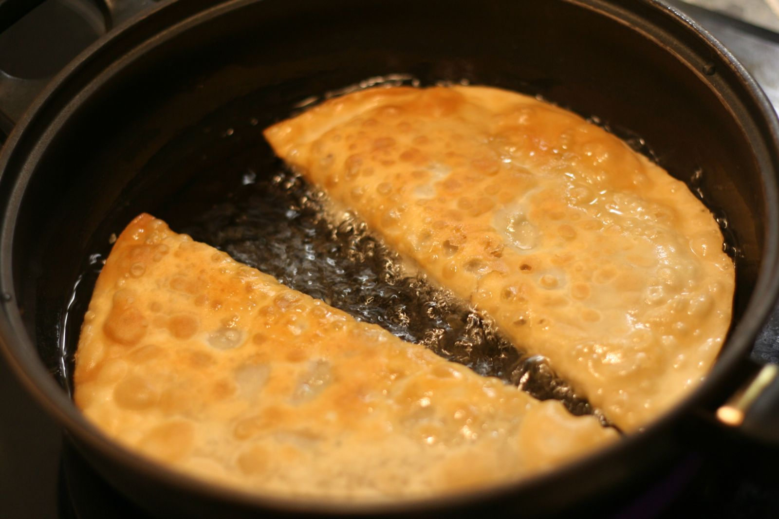 Чебуреки с мясом на кефире - Со Вкусом 37